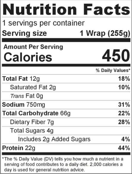 Moon Meals_Fiesta Wrap_Back Label_Taylor Farms_02092017_crop